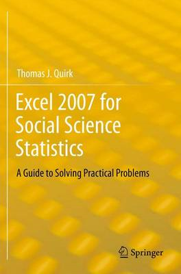 Excel 2007 for Social Science Statistics (BOK)