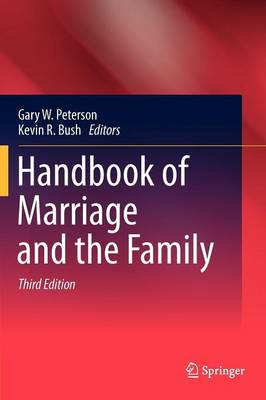 Handbook of Marriage and the Family (BOK)