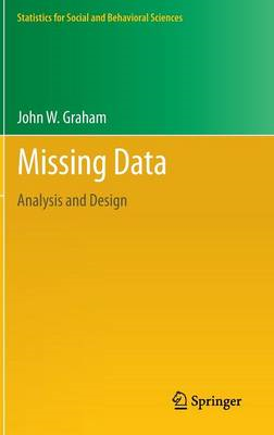 Missing Data: Analysis and Design (BOK)