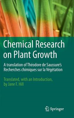 Chemical Research on Plant Growth (BOK)