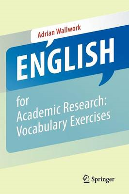 English for Academic Research: Vocabulary Exercises (BOK)