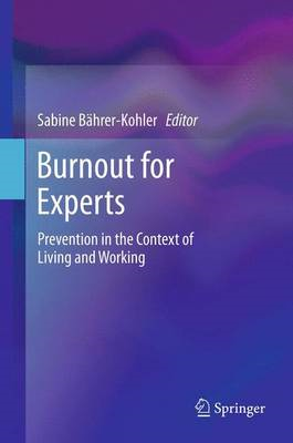 Burnout for Experts: Prevention in the Context of Living and Working (BOK)