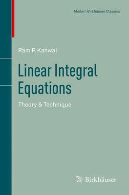 Linear Integral Equations: Theory & Technique (BOK)