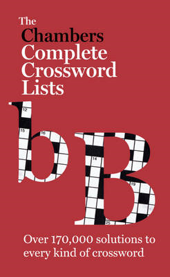 Chambers Crossword Lists (BOK)