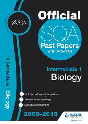 SQA Past Papers Intermediate 1 Biology: 2013 (BOK)