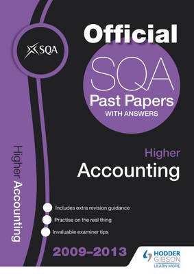 SQA Past Papers Higher Accounting: 2013 (BOK)