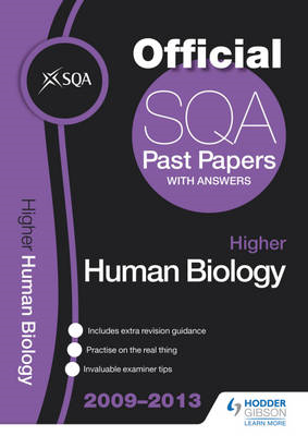 SQA Past Papers Higher Human Biology: 2013 (BOK)
