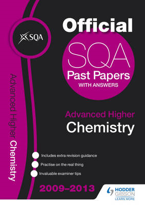 SQA Past Papers Advanced Higher Chemistry: 2013 (BOK)