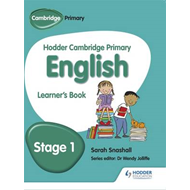 Hodder Cambridge Primary English: Learner's Book Stage 1 (BOK)