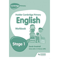 Hodder Cambridge Primary English: Work Book Stage 1 (BOK)