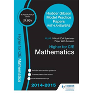 SQA Specimen Paper 2014 Higher for CFE Mathematics & Hodder (BOK)