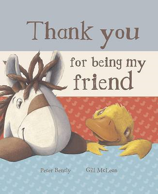 Thank You for Being My Friend (Book and Soft Toy Gift Set) (BOK)