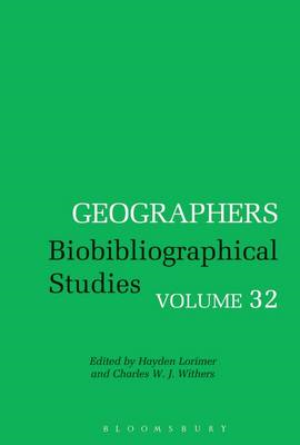 Geographers Biobibliographical Studies: Volume 32 (BOK)