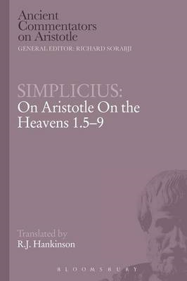 Simplicius: On Aristotle On the Heavens 1.5-9 (BOK)