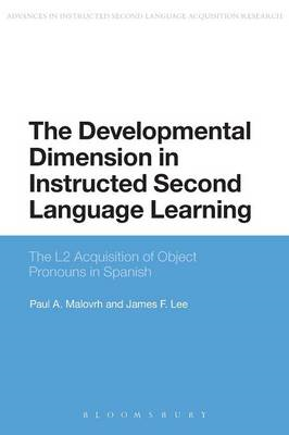 Developmental Dimension in Instructed Second Language Learni (BOK)