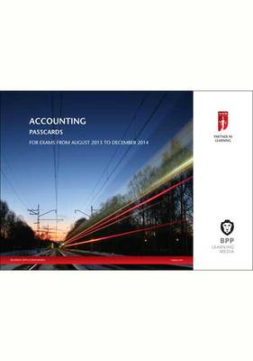 ICAEW Accounting: Passcards: 2014 (BOK)