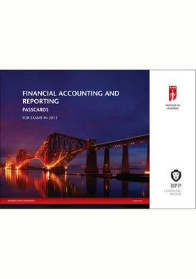 ICAEW Financial Accounting and Reporting New: Passcards: 2013 (BOK)