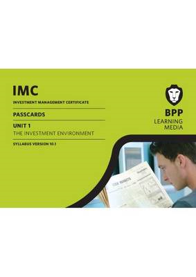 IMC Unit 1 Passcards Version 10.1: Passcards (BOK)