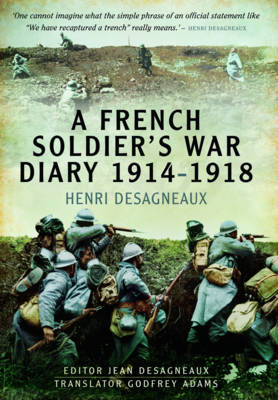 French Soldier's War Diary 1914-1918 (BOK)