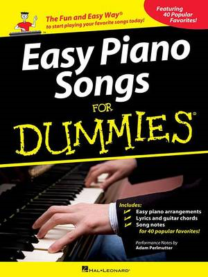 Easy Piano Songs for Dummies (BOK)