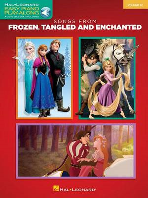Easy Piano: Songs from Frozen, Tangled and Enchanted: Volume 32 (BOK)