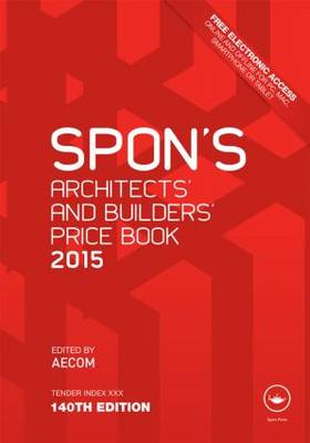 Spon's Architect's and Builders' Price Book 2015 (BOK)