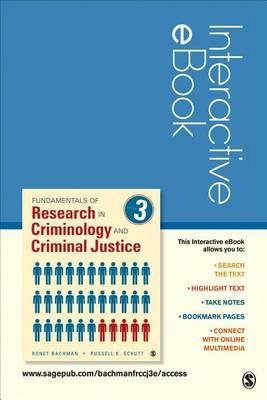 Fundamentals of Research in Criminology and Criminal Justice, Interactive eBook (BOK)