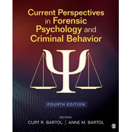 Current Perspectives in Forensic Psychology and Criminal Beh (BOK)