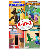 Minecraft Books for Kids: The Complete Minecraft Book Series (4 Minecraft Novels for Kids) (BOK)