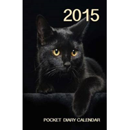 2015 Pocket Diary Calendar - Black Cat (BOK)