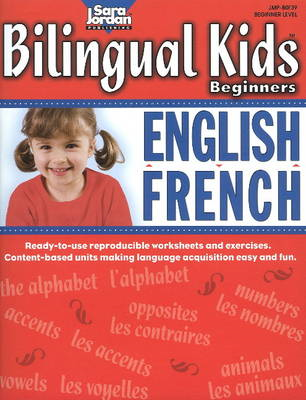 Bilingual Kids Beginners English / French Resource Book (BOK)