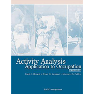 Activity Analysis: Application to Occupation (BOK)