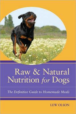 Raw and Natural Nutrition for Dogs: The Definitive Guide to Homemade Meals (BOK)