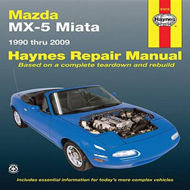 Mazda Miata Automotive Repair Manual (BOK)