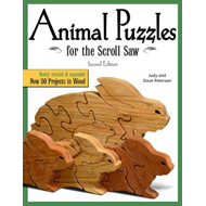 Animal Puzzles for the Scroll Saw, 2nd Edn (BOK)