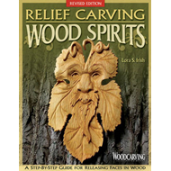 Relief carving wood spirits (BOK)