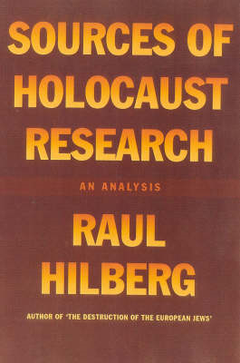 Sources of Holocaust Research: An Analysis (BOK)