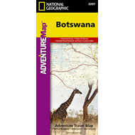 Botswana: Travel Maps International Adventure Map (BOK)