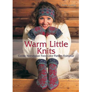 Warm Little Knits: Classic Norwegian Two-color Pattern Knitwear (BOK)
