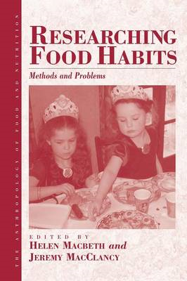Researching Food Habits: Methods and Problems (BOK)