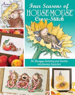 Four Seasons of House-Mouse Cross-Stitch (BOK)