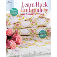 Learn Huck Embroidery on Monk's Cloth (BOK)