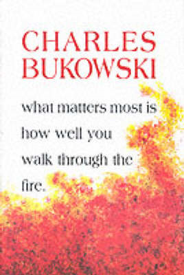 What Matters Most is How Well You Walk Through the Fire (BOK)