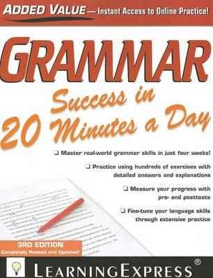Grammar Success in 20 Minutes a Day (BOK)