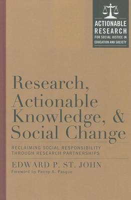 Research, Actionable Knowledge and Social Change: The Social Contract for Research and Interventions (BOK)