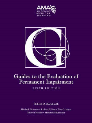 Guides to the Evaluation of Permanent Impairment (BOK)