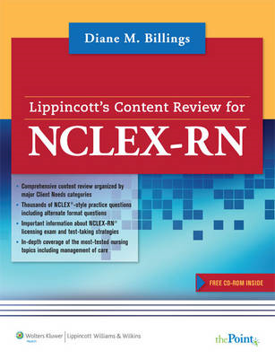 Lippincott's Content Review for NCLEX-RN (BOK)