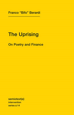 The Uprising - On Poetry and Finance (BOK)