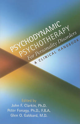 Psychodynamic Psychotherapy for Personality Disorders (BOK)