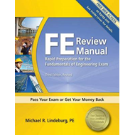 FE Review Manual: Rapid Preparation for the Fundamentals of Engineering Exam (BOK)